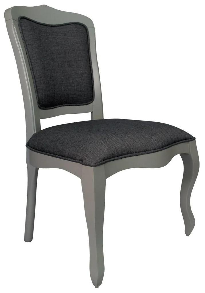Cadeira Bourbon s/ Braço - Cinza Claire Provençal Kleiner Schein