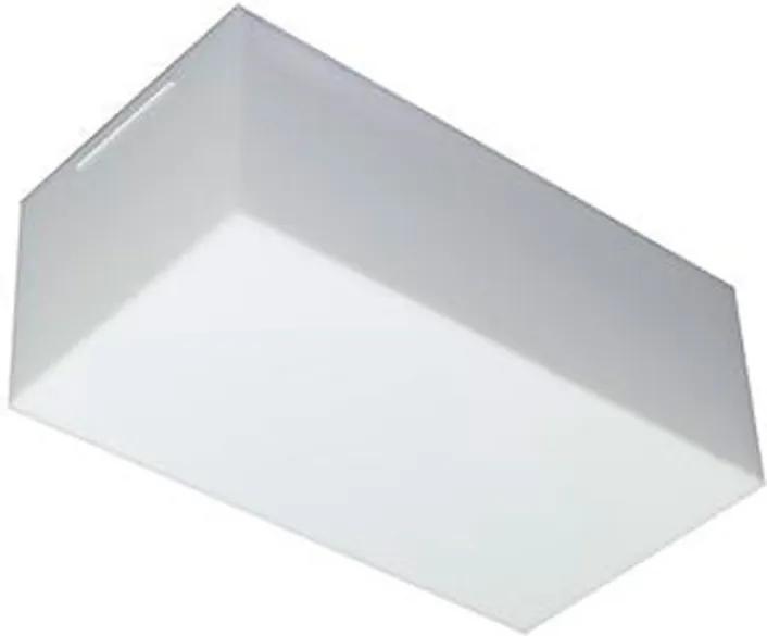 Arandela Sobrepor Aluminio Branco Led 9w 3000k Valencia