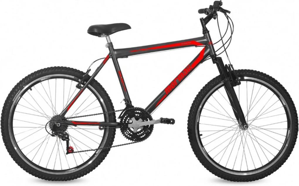 Bicicleta Mormaii Jaws Aro 26 Preto