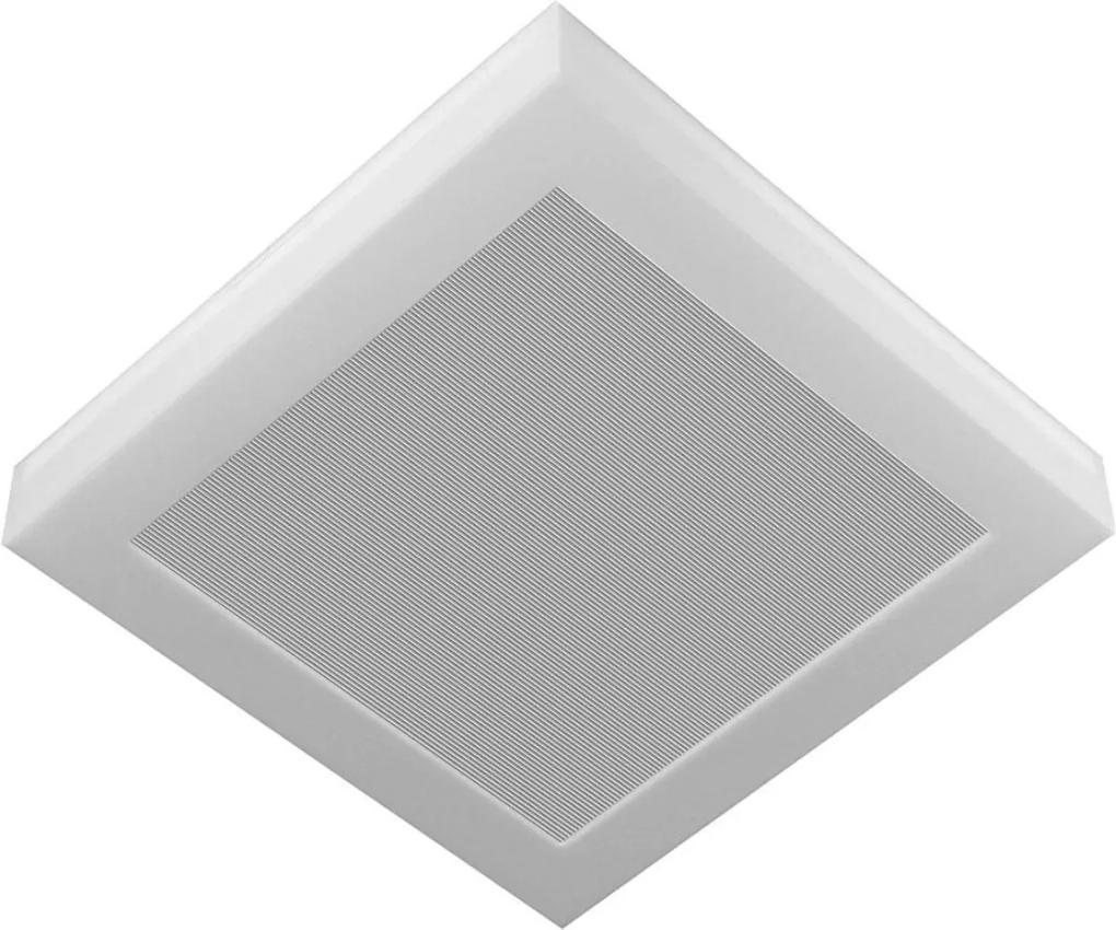 Plafon Led Sobrepor Aluminio 25w Luz Branca 6500k Londres