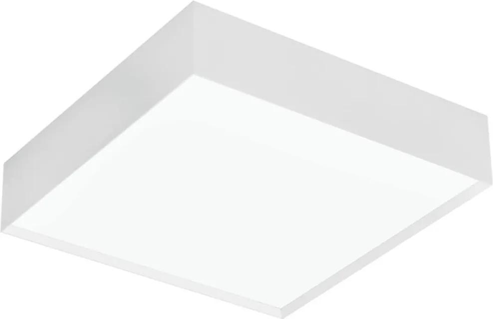 Plafon Sobrepor Aluminio Branco 34cm