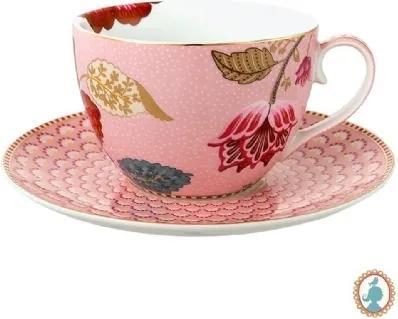 Xícara De Chá Rosa - Floral Fantasy - Pip Studio
