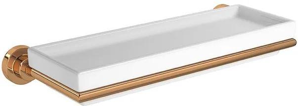 Prateleira Slim Red Gold - 2030.GL.SLM.RD - Deca - Deca