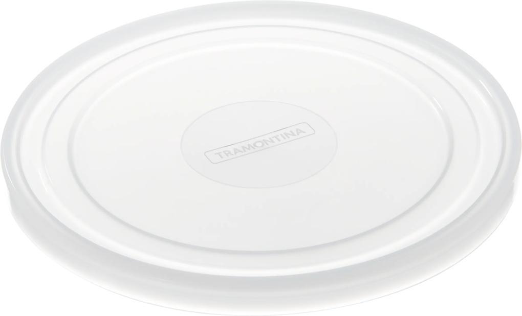 Tampa De Plástico Tramontina Freezinox Redonda Para Pote Ø 22 Cm 61992220