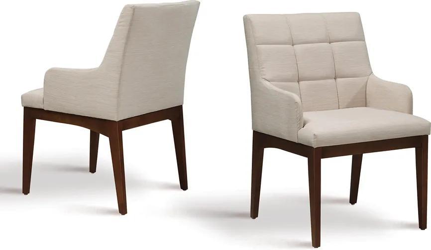 Cadeira de Jantar Lena Braço Alto