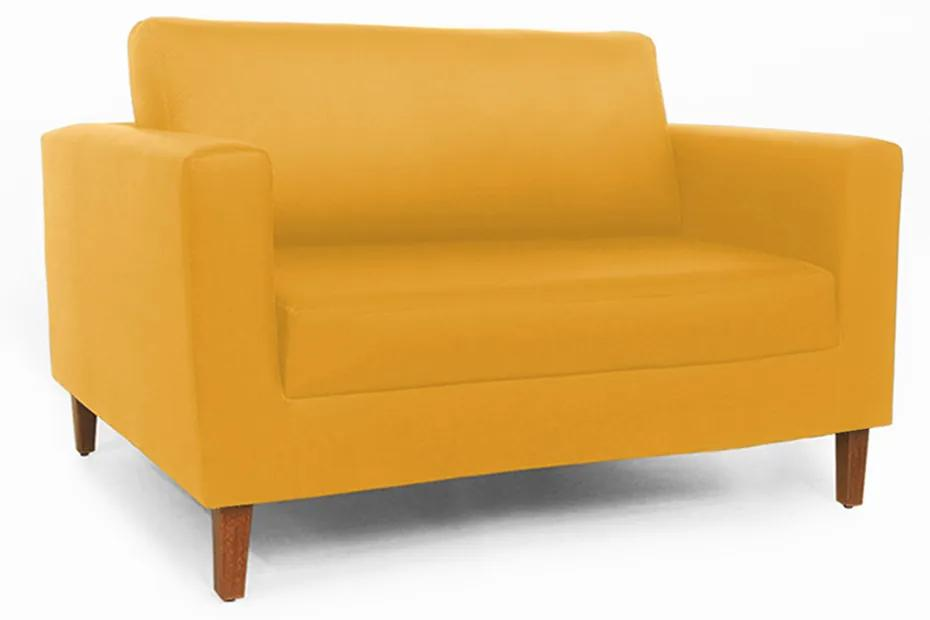 Namoradeira Decorativa Gabriela Courino Amarelo