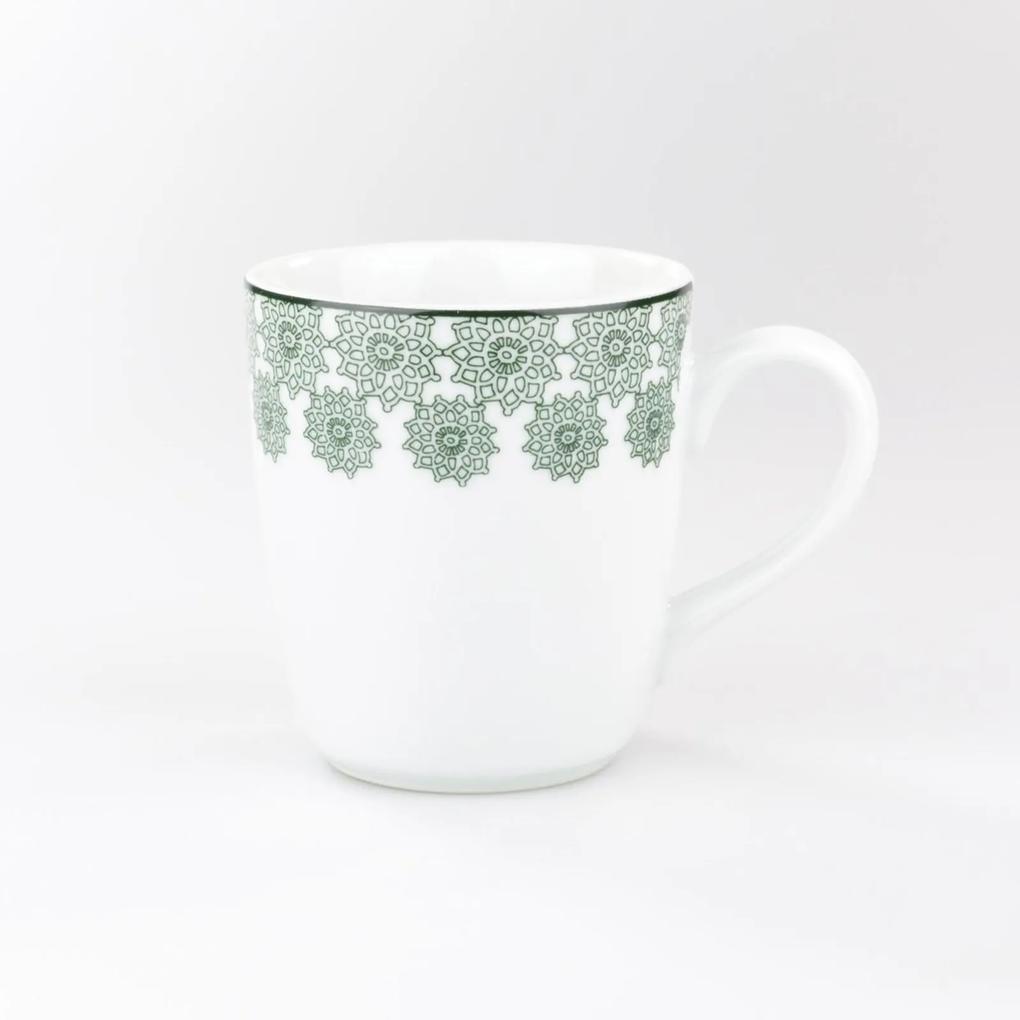 Caneca 225 ml Porcelana Schmidt - Dec. Tais