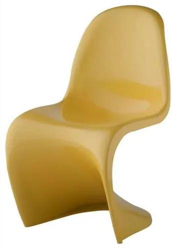Cadeira Panton INFANTIL ABS Cor Amarelo - 20875 Sun House