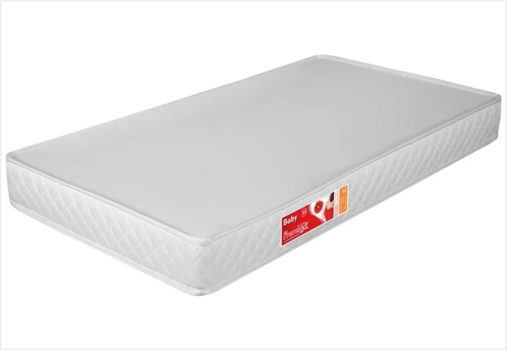 ColchÁo para Berço Liso Branco 130 x 60 x 10 cm D18 - Prorelax