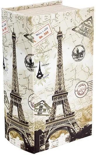 Caixa para Lenços de Seda Eiffel Carimbos