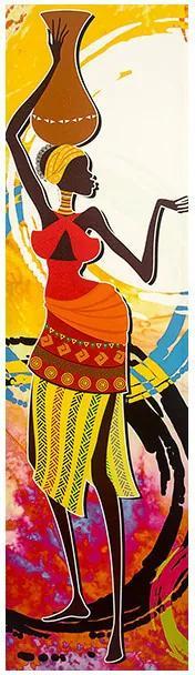 Tela Impressa Desenho Africano