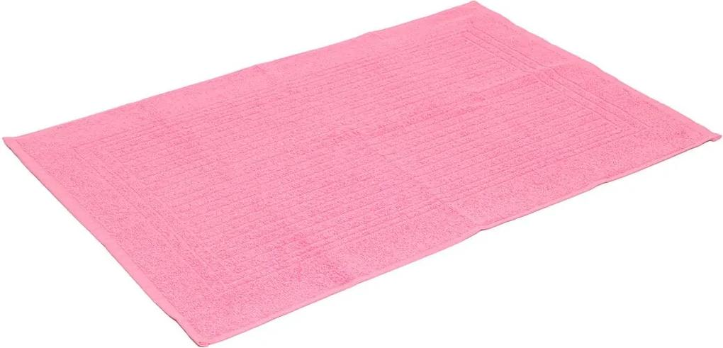 Toalha de Piso Santista Cedro 45x70cm Rosa
