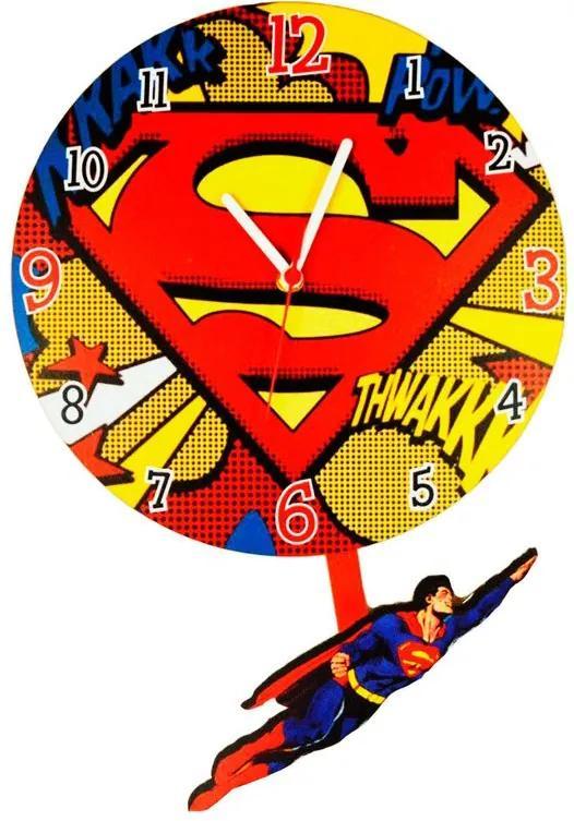 Relógio Pendulo Super Homem