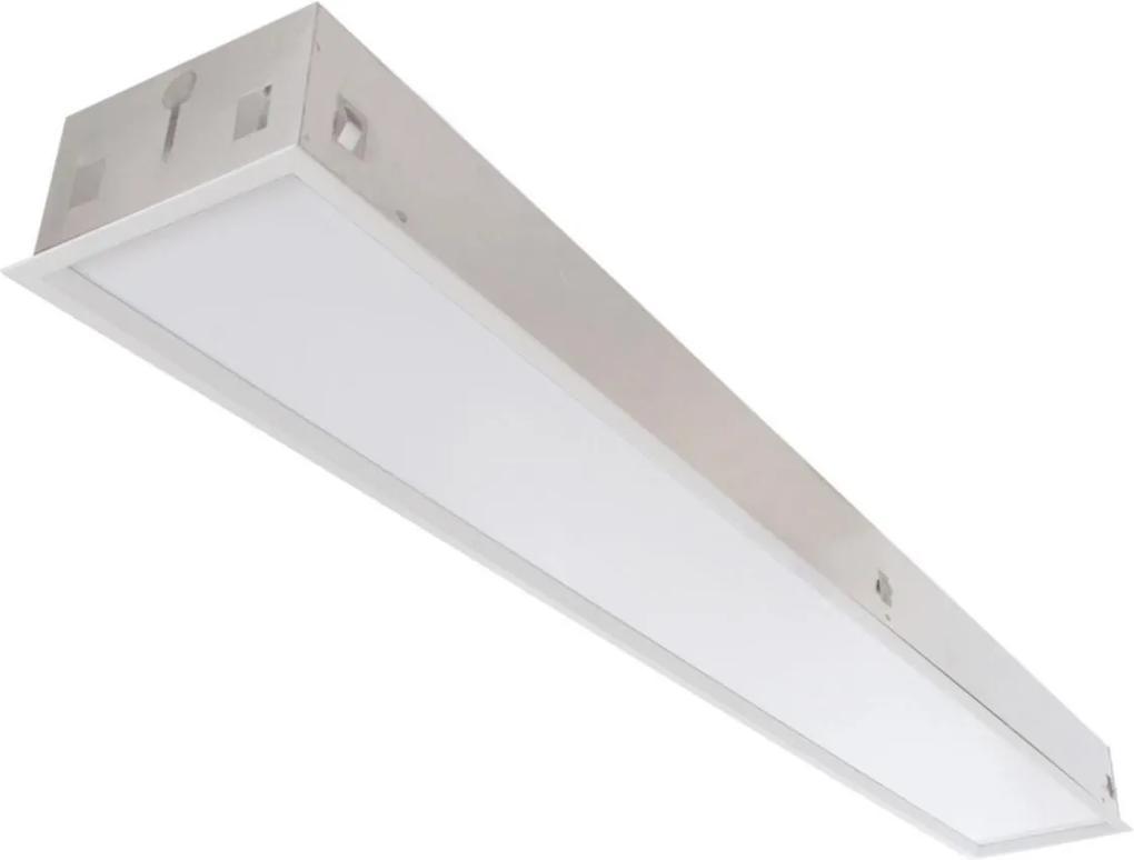 Plafon Embutir Aluminio Branco 68,8cm