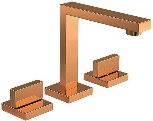 Misturador para Banheiro Mesa Dream Red Gold 1877.GL87.RD - Deca - Deca