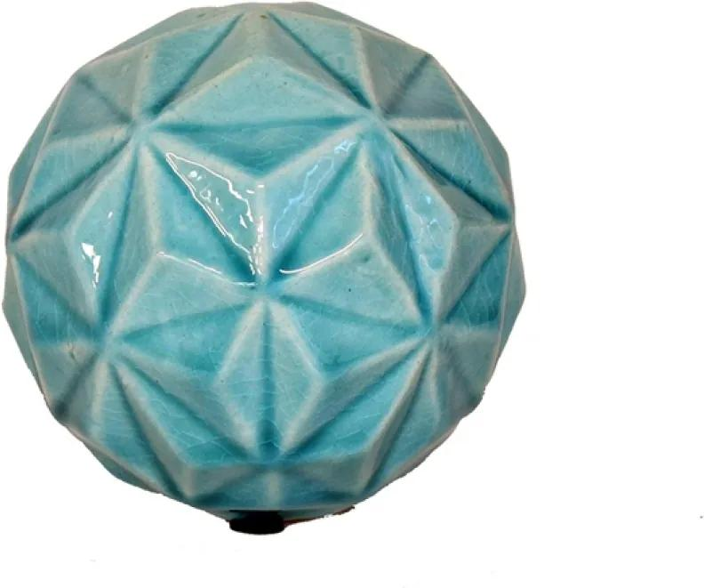Esfera Cerâmica Turquesa