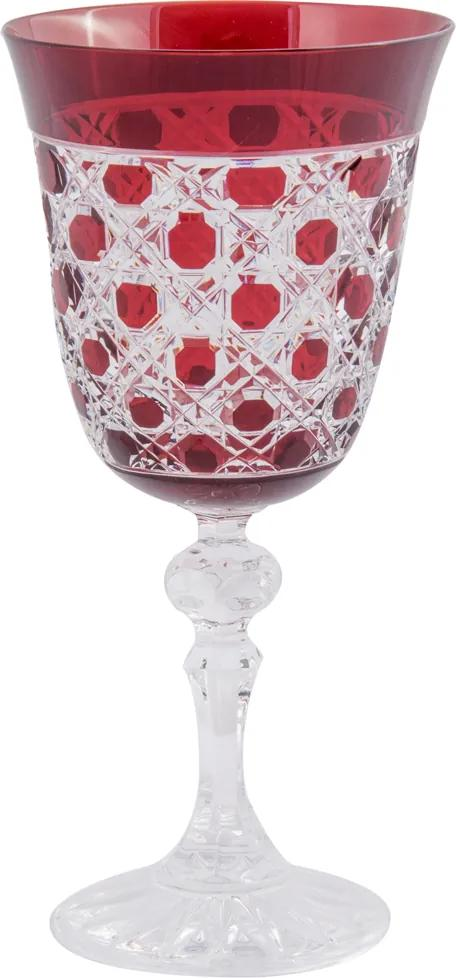 Taça de Cristal Lodz para Água de 220 ml Metropol