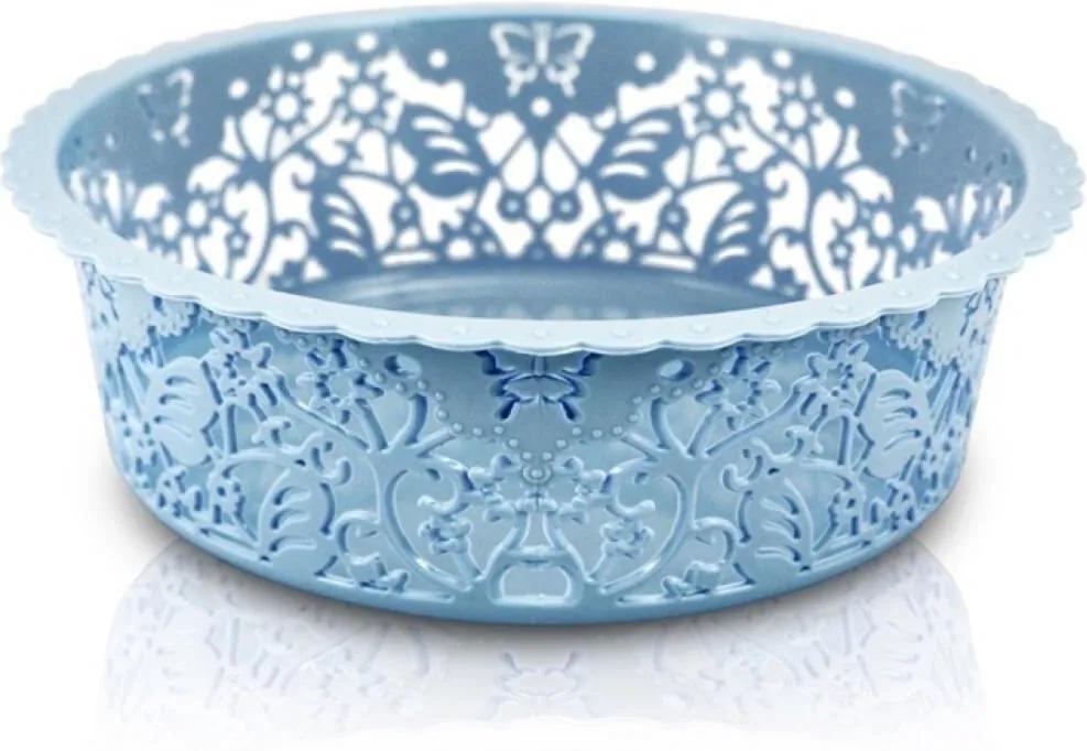 Cesto Organizador Circular Tam. P Jacki Design Lifestyle Azul