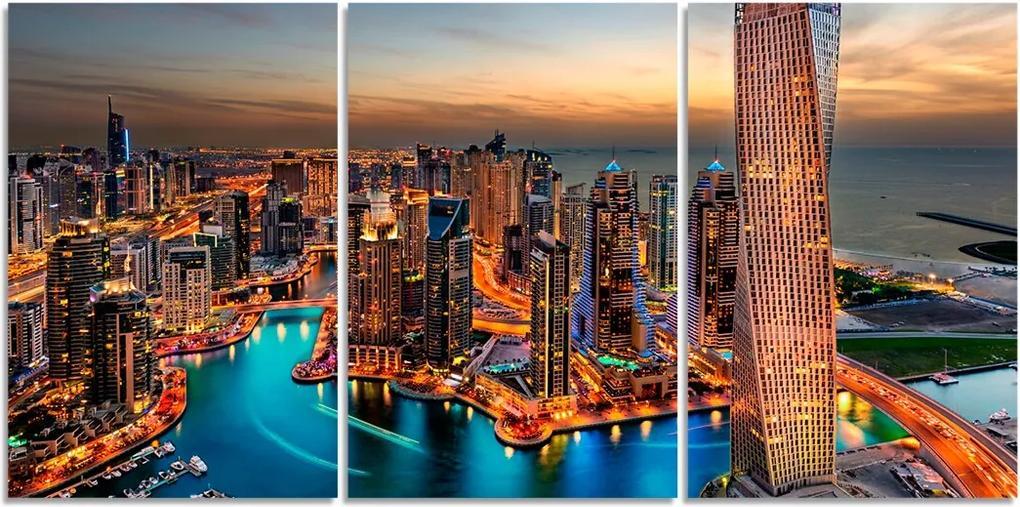 Quadro Decorativo Para Sala Cidade Predio Dubai
