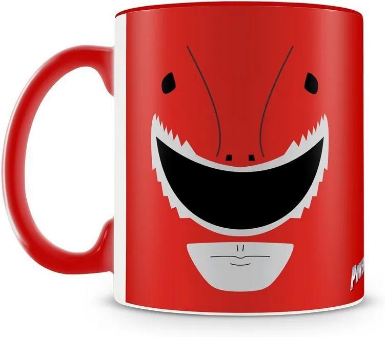 Caneca Personalizada Power Rangers (Ranger Vermelho)