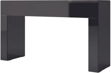 Aparador Cambuci cor Preto com Brilho 1,02 MT (LARG) - 56481 Sun House