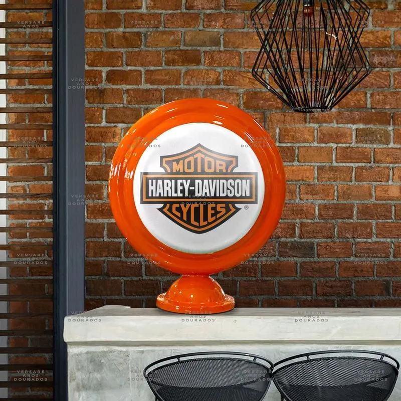 Luminária De Mesa Harley Davidson