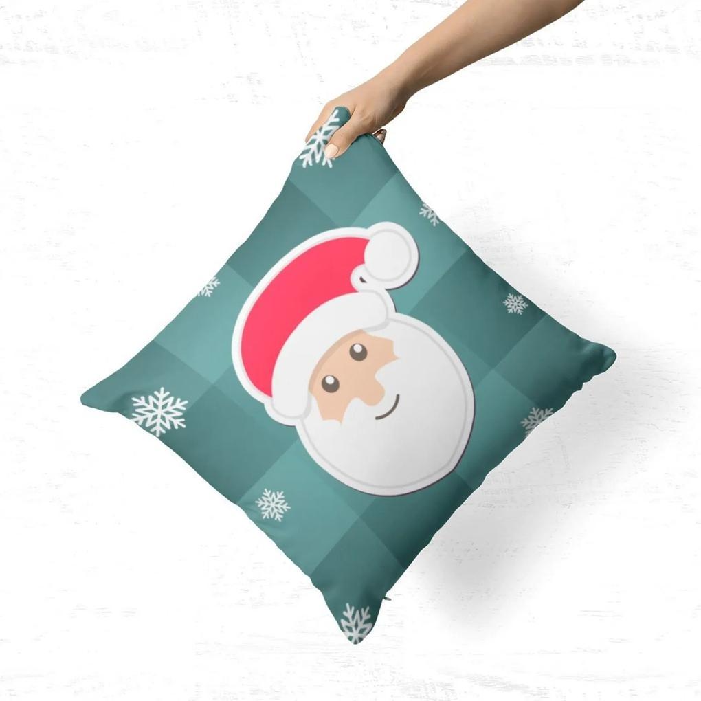 Capa de Almofada Avulsa Decorativa Papel Noel Cute 35x35cm