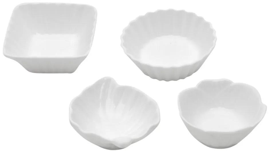 Jogo Ramequins Porcelana 36 Peças Branco 35523 Bon Gourmet