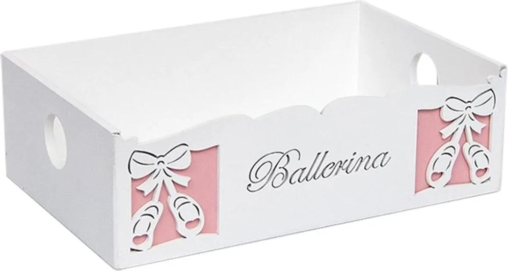Cesta Ballerina - Rosa - Esportes Padroeira Baby