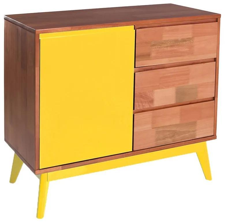 Buffet Rubi Amarelo -  Wood Prime MP 221038