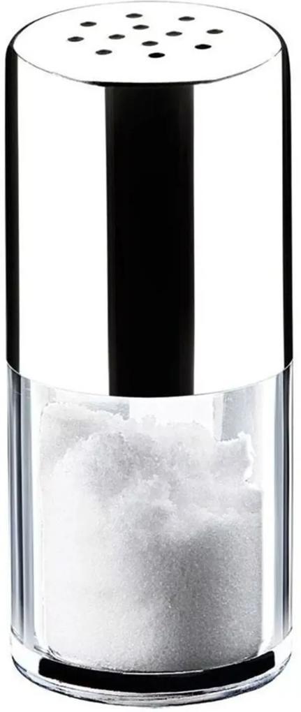 Saleiro/Pimenteiro Brinox Elegance 50 ml Parma Prata/Transparente