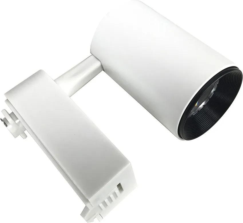 Spot para Trilho Eletrificado Branco Led 7W 3000K Bivolt - Initial - SPOT.TRI-7A-BQ