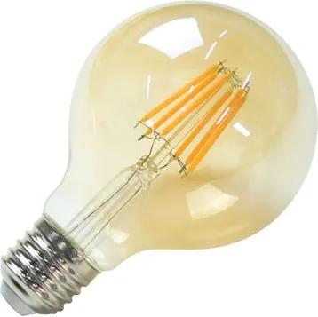 Lâmpada de Filamento LED Vintage G80