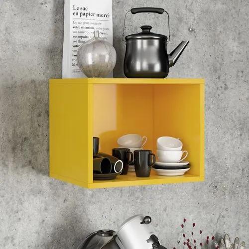 Nicho Decorativo Floripa - Amarelo