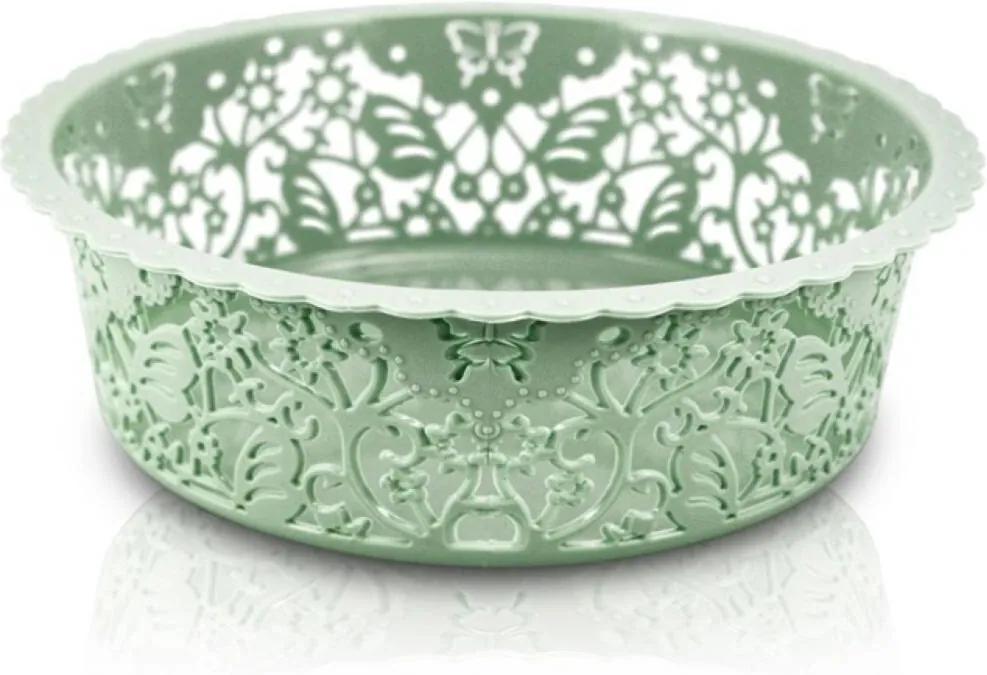 Cesto Organizador Circular Tam. P Jacki Design Lifestyle Verde
