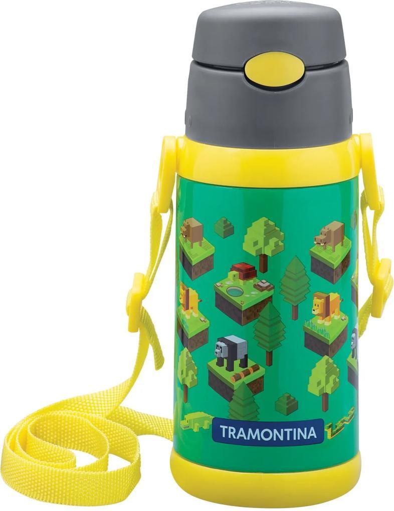 Garrafa Térmica Infantil 0,5L Gaming Tramontina