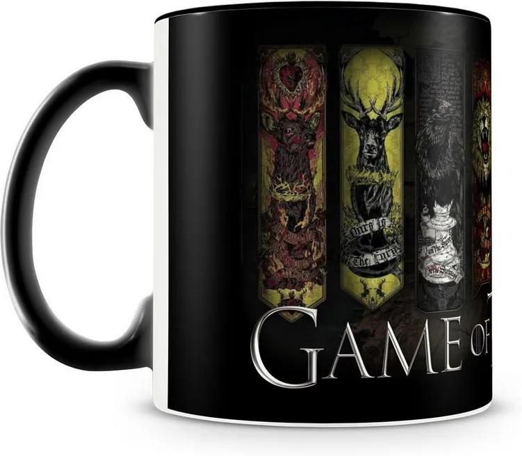 Caneca Personalizada Game of Thrones Casas