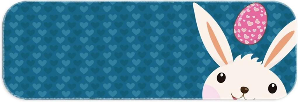 Passadeira Love Decor Wevans Páscoa Love Azul