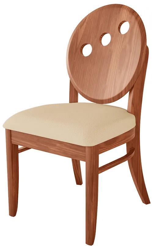 Cadeira Florence Assento Estofada - Wood Prime LL 33020