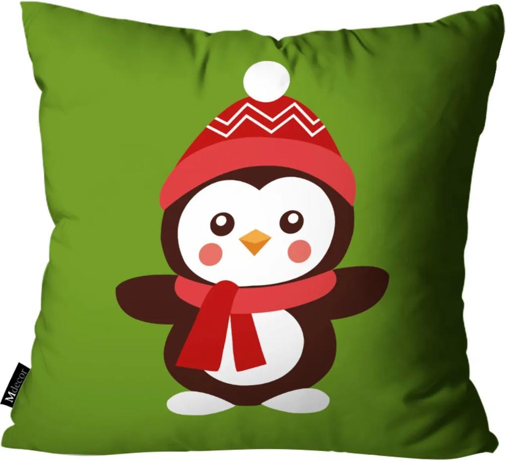 Capa para Almofada de Natal 45x45cm Verde
