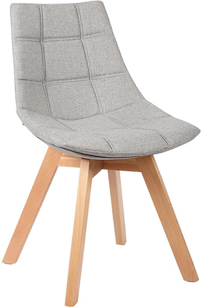 Cadeira Leila Cinza Claro Rivatti