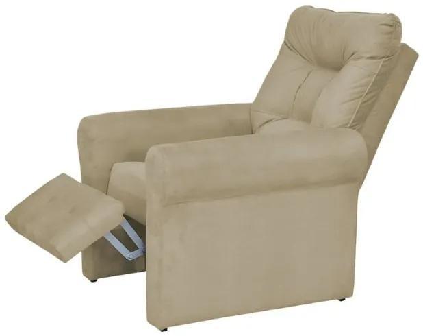 Poltrona do papai reclinável Clio -  Bege
