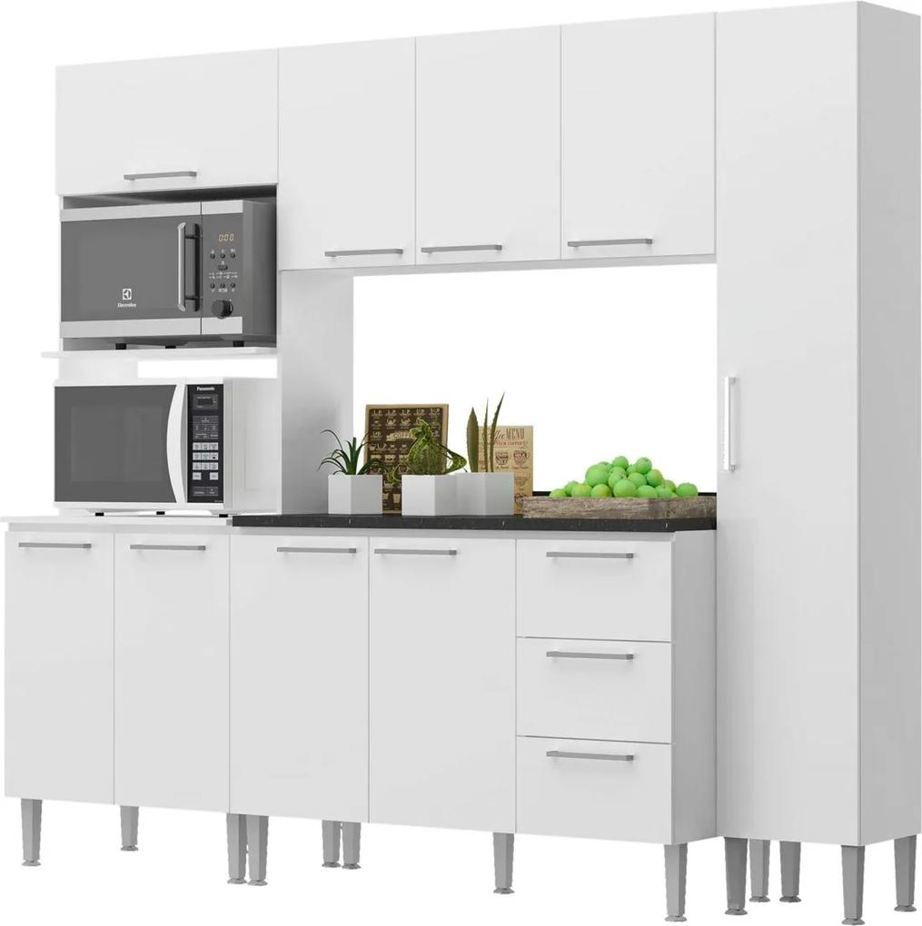 Cozinha Alice Branco Genialflex Móveis