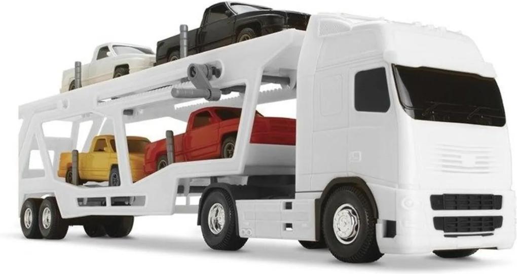 Caminhão Voyager Cegonheira Branco - Roma