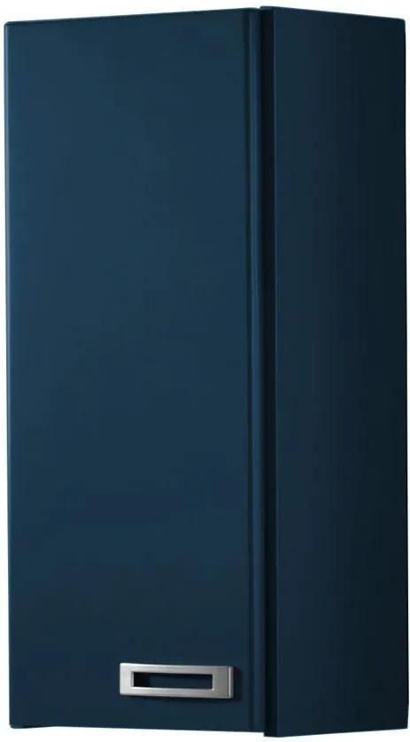 Armário de Banheiro Aéreo 1 Porta Kenzo 160 Azul Noite - Maxima
