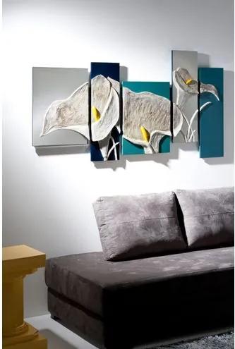 Adorno Lilla Florenca em MDF Pintado - 18094 Sun House