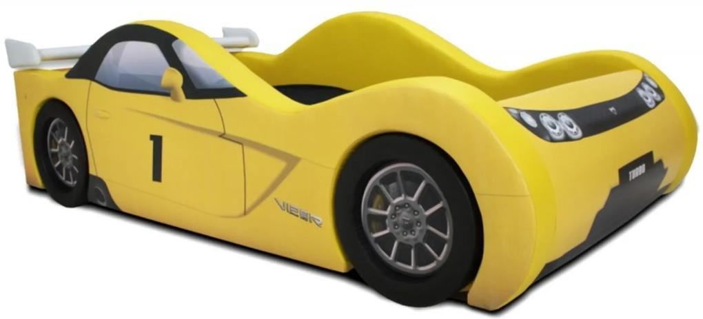 Cama Carro Viper  Amarelo