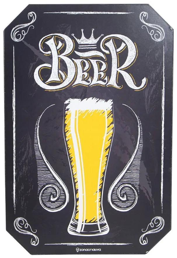 Placa Decorativa Beer