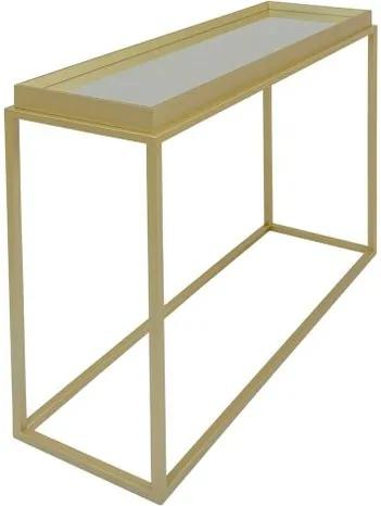 Mesa Lateral Loi Gold Espelho 80 cm - 59970 Sun House