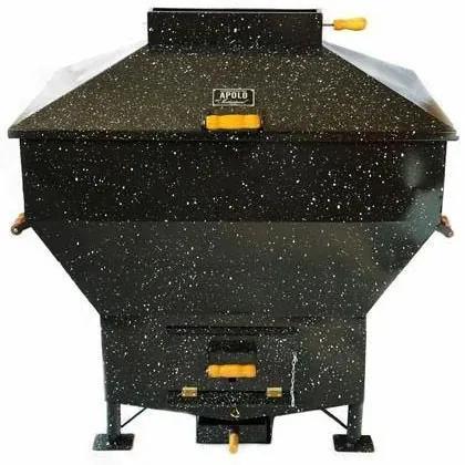 Churrasqueira a Bafo Gas ou Carvão Apolo Mini Industrial Esmaltada - Weber